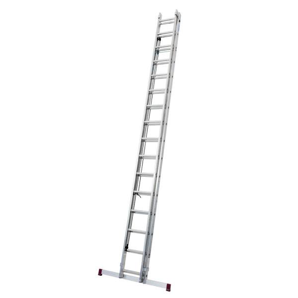 KRAUSE Alu Seilzugleiter Corda 2 x 16 Stufen