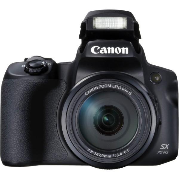 Canon Canon Powershot SX70 HS schwarz Superzoom-Kamera