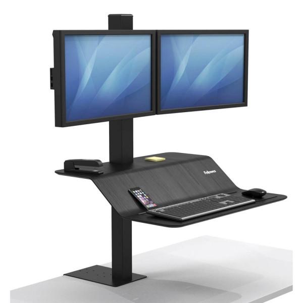 Fellowes Monitor-Maus-Tastatur-Halterung Lotus VE