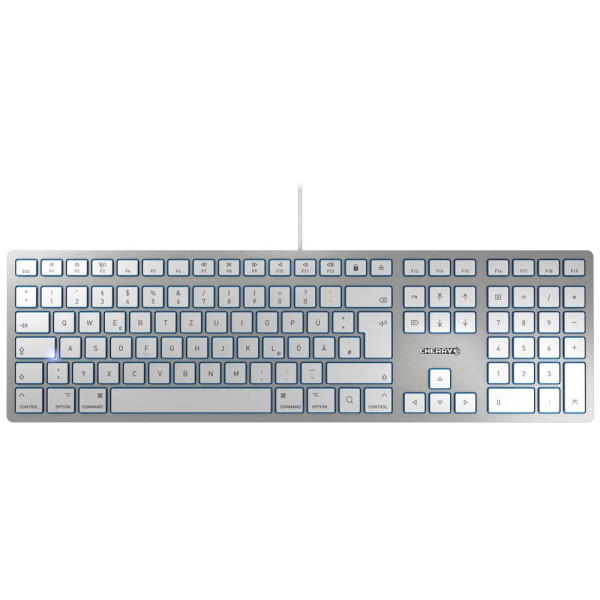 CHERRY CHERRY KC 6000 SLIM for MAC Tastatur kabelgebunden