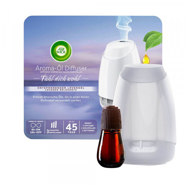 AIRWICK AIRWICK Duftöl-Set Fühl dich wohl blumig