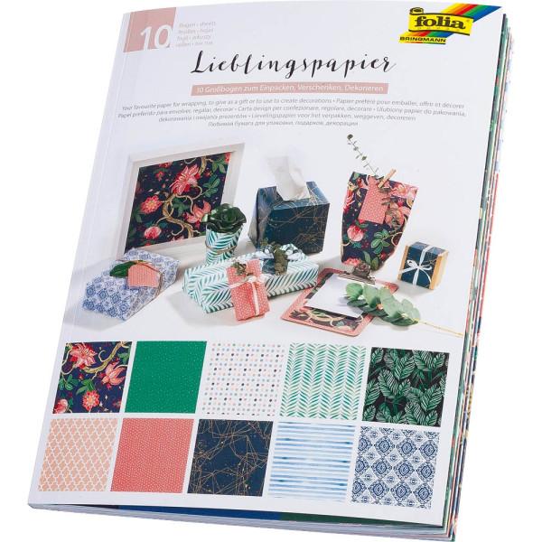 folia folia Geschenkpapier Lieblingspapiere