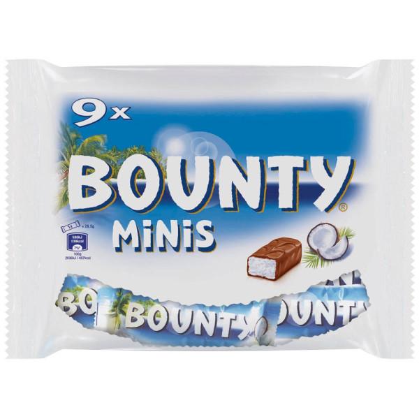 BOUNTY BOUNTY Minis Schokoriegel 9 St.