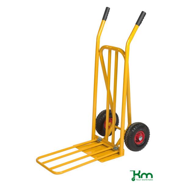 Kongamek Karren gelb bis 250 kg Unplattbare Räder 920x480x1170mm KM106PF