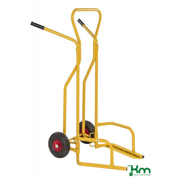 Kongamek Karren gelb bis 200 kg Luftbereift 260 mm 1300x840x1490mm KMD1
