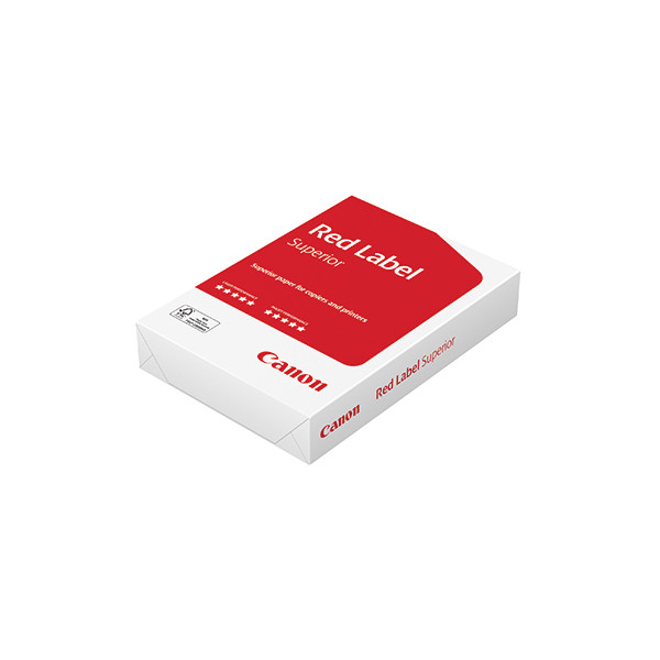 Canon Kopierpapier Red Label DIN A3 80g/m² weiss 500 Bl./Pack.