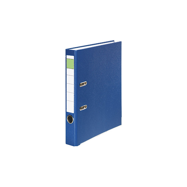 Ordner 50mm DIN A4 Werkstoff: Pappe Material der Kaschierung außen: Polypropylen Material der Kaschierung innen: Papier blau
