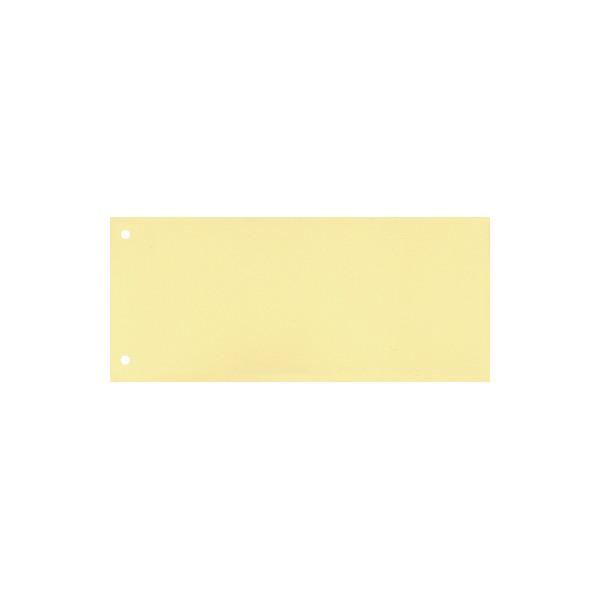 Trennstreifen 22,5 x 10,5 cm (B x H) 160g/m˛ Karton gelb 100 St./Pack.