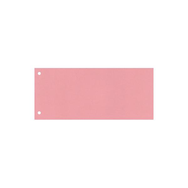 Trennstreifen 22,5 x 10,5 cm (B x H) 160g/m˛ Karton rot 100 St./Pack.