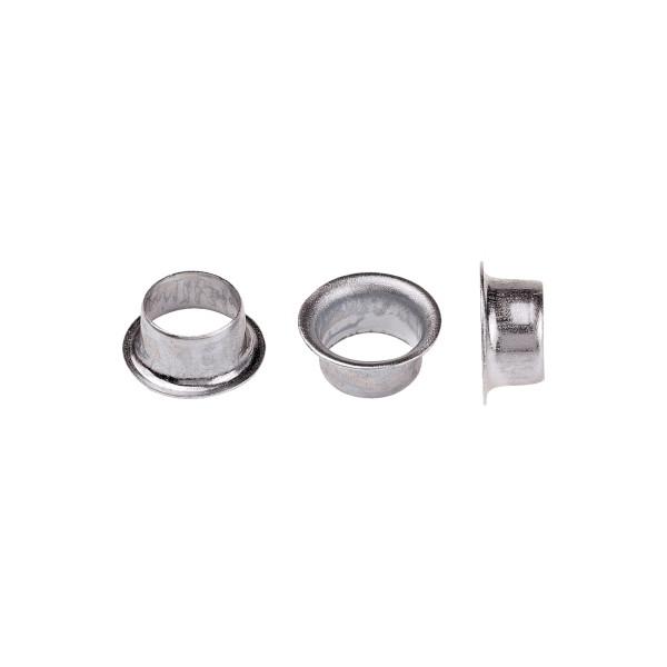 hang Ösen 8E Durchmesser: 5,5mm Länge: 3mm Stahl, vernickelt 10.000 St./Pack.