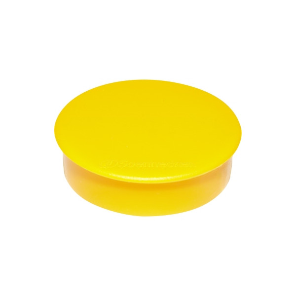 Soennecken Magnet 38mm 2,5kg gelb 10 St./Pack.