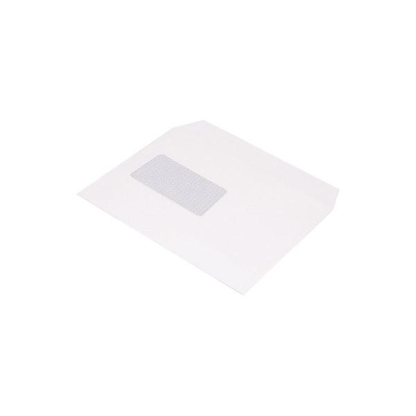 BONG Briefumschlag TopSTAR DIN C5 229 x 162 mm (B x H) mit Fenster 100g/m˛ mit Haftklebung Papier hochweiß