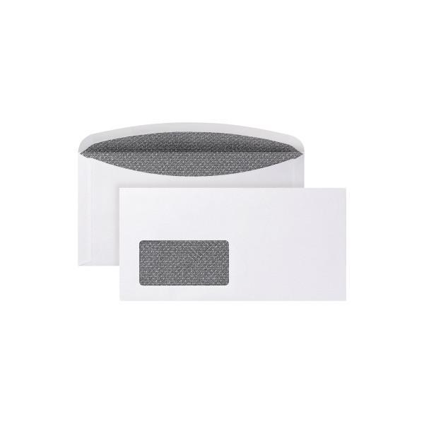 POSTHORN Briefumschlag 3000 DIN C6/5 mit Fenster 80g/m² mit gummierter Klappe Papier weiss
