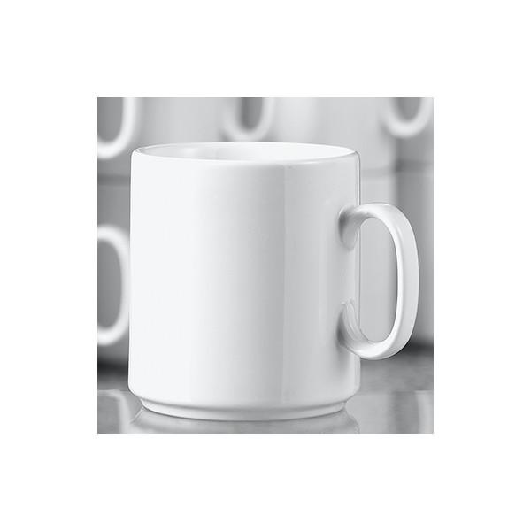 Esmeyer Kaffeebecher Diane 280ml Porzellan weiß 6 St./Pack.