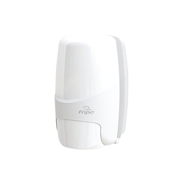 Fripa Seifenspender Seifen 12,8 x 20,9 x 12,9 cm (B x H x T) 0,5l Kunststoff weiß