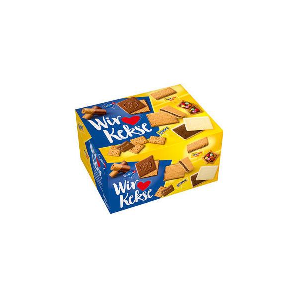 Bahlsen Gebäckmischung Wir lieben Kekse 4 x 280 g/Pack.