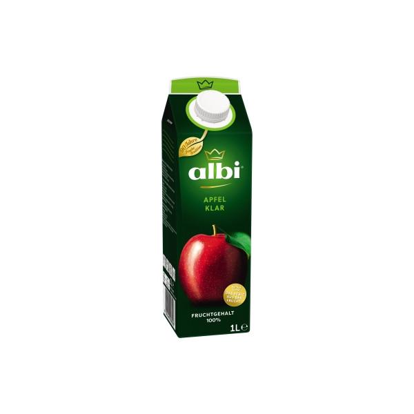 albi Fruchtsaft Apfel klar 6 x 1 l/Pack.