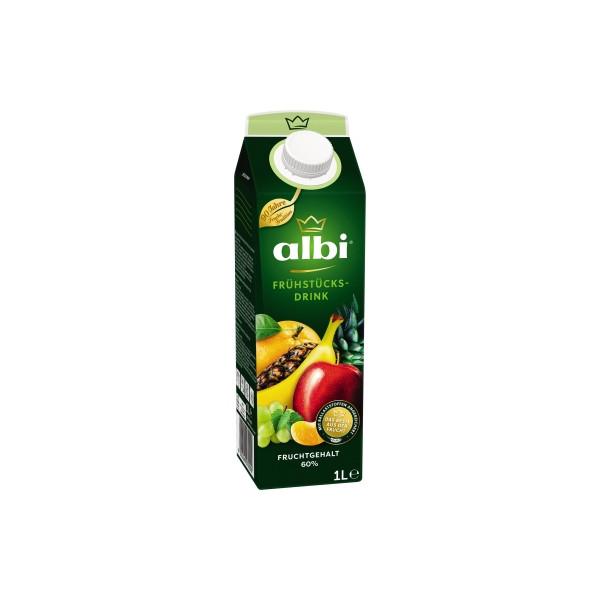 albi Fruchtsaft Frühstücks-Drink 6 x 1 l/Pack.