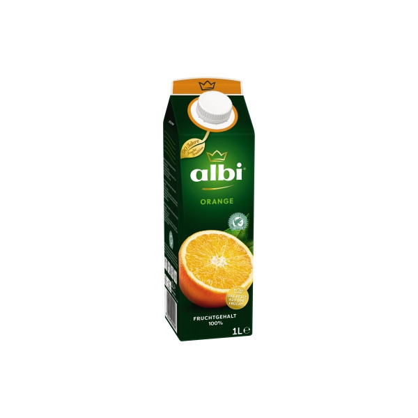 albi Fruchtsaft Orange 6 x 1 l/Pack.
