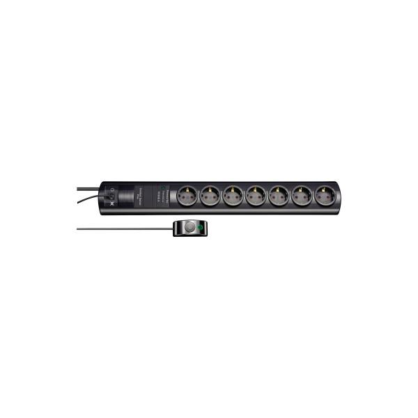 brennenstuhl Steckdosenleiste Primera-Tec Comfort Switch Plus 7 Steckdosen 2m schwarz