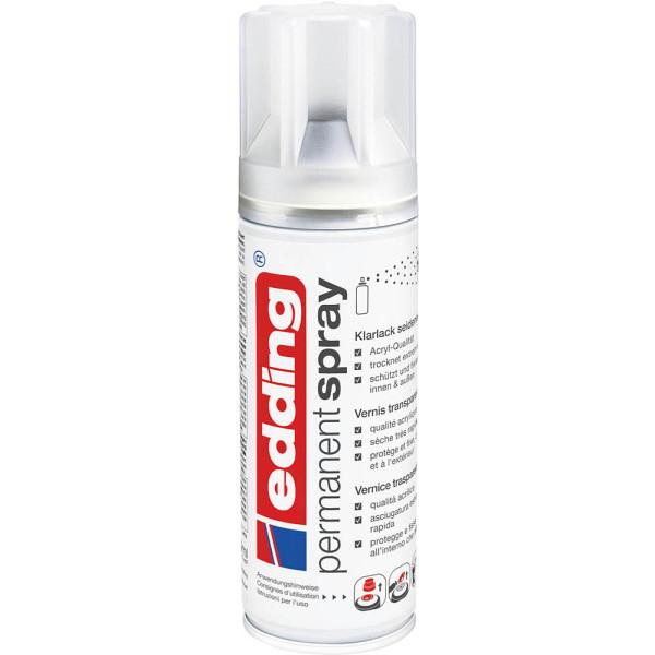 EDDING Spraydosen 5200-995 Klarlack seidenmatt 200ml, edding 5200