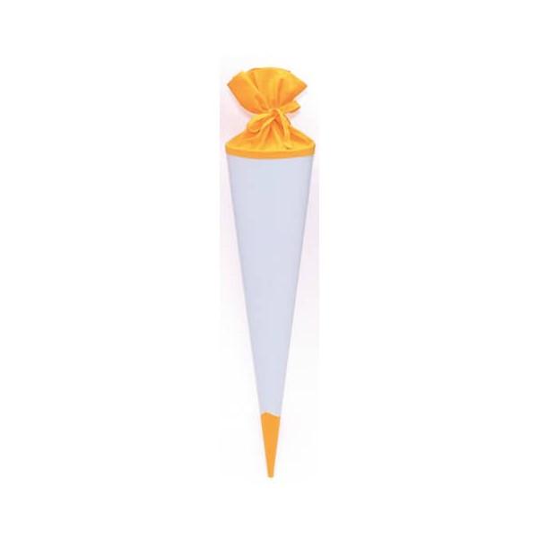 GOLDBUCH 97844 Filzverschluss Bastelschultüte 70cm gelb