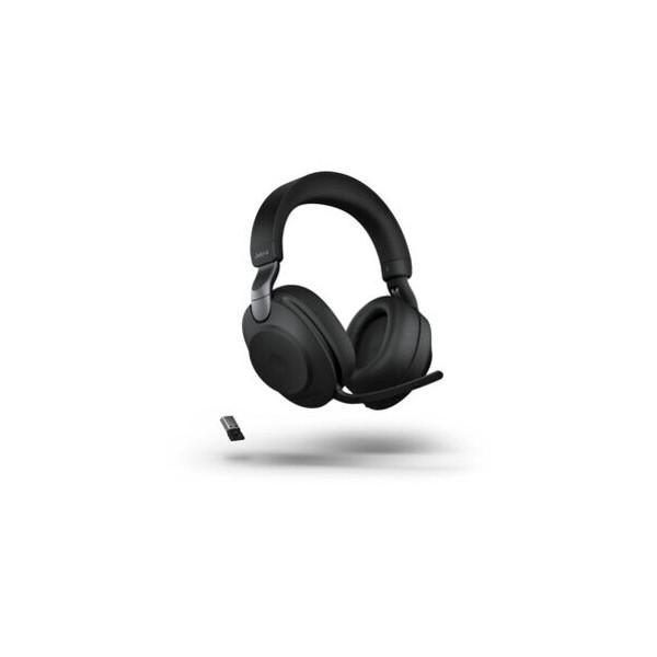 Jabra Headset, Evolve2 85 UC, Duo, USB A/3,5mm-Klinke, schwarz