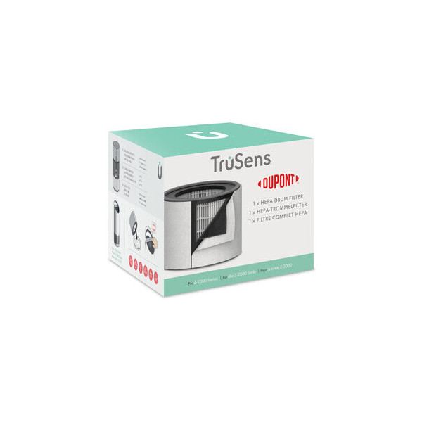 TruSens Filter, 3-In-1 HEPA-Trommelfilter, für Trusens Z-2000