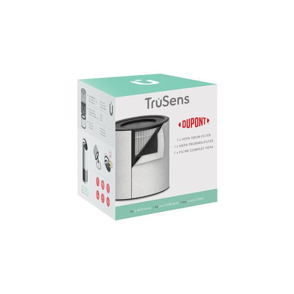 TruSens Filter, 3-In-1 HEPA-Trommelfilter, für Trusens Z-3000