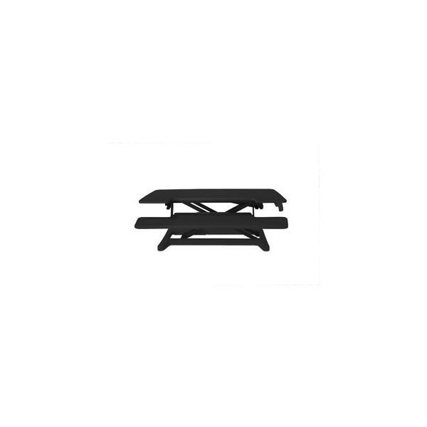 BAKKER ELKHUIZEN Monitorständer Sitz-Steh-Schreibtischaufsatz 2, schwarz