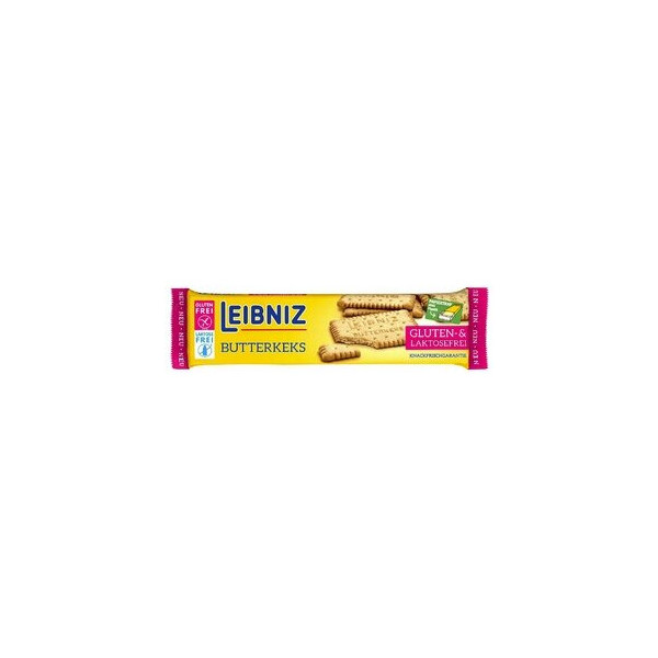 Leibniz Gebäck BUTTERKEKS, gluten-/laktosefrei, Packung