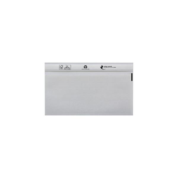 DEBATIN Begleitpapiertasche UNIPACK?, PE, ohne Druck, sk, 240 x 117,5 mm