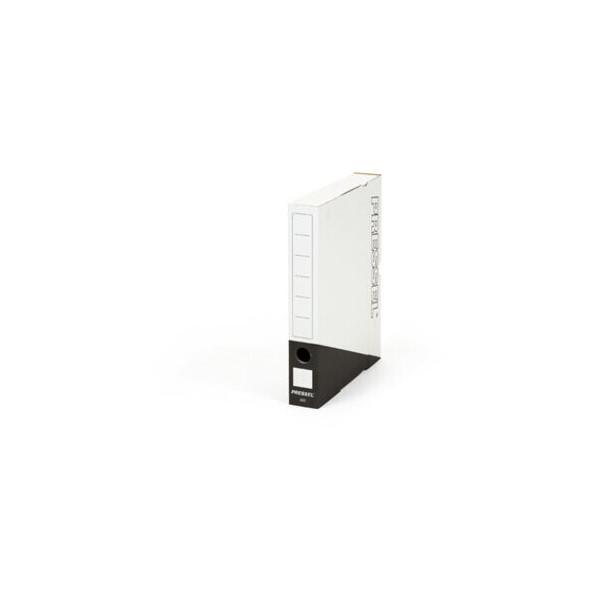 Pressel Archivbox, A50, Steckverschluss, A4, 5x26x32cm, weiß