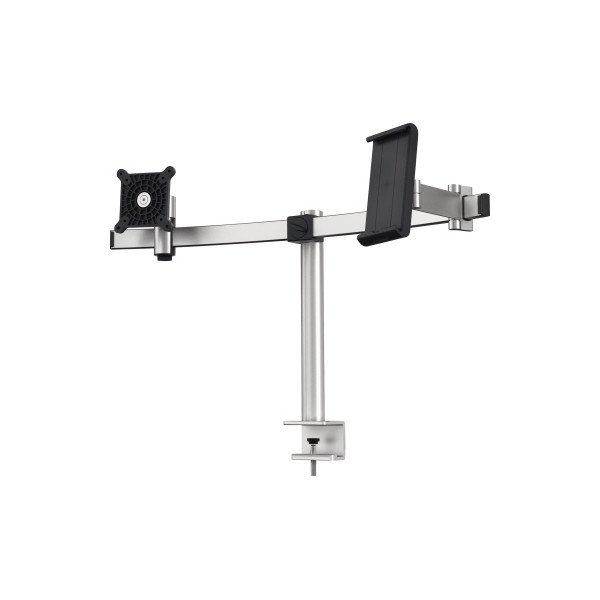 DURABLE Monitorhalter 508723 1Monitor/1Tablet Tischklemme si