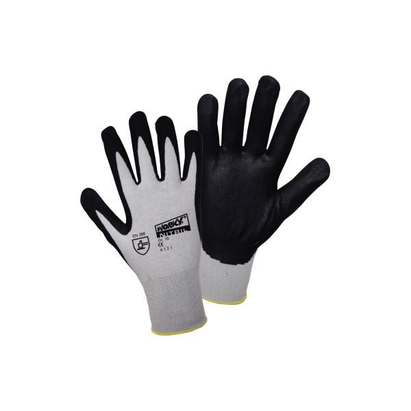 WORKY Handschuh NON STICKY 1158-8 FOAM/Nylon/NITRIL Gr8 1Paar