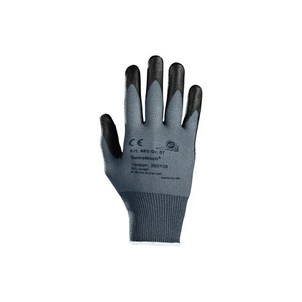 KCL Handschuh GemoMech 665 Nitril Polyurethan Größe 8 M 1 Paar