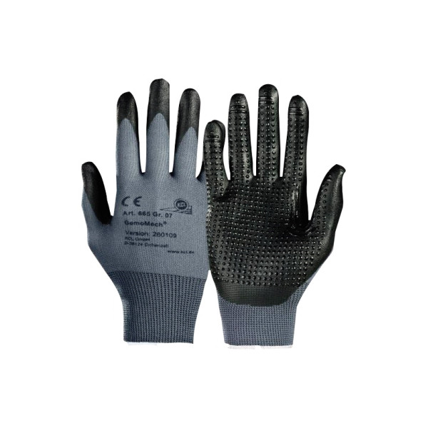 KCL Handschuh GemoMech 665 Nitril Polyurethan Größe 10 XL 1 Paar