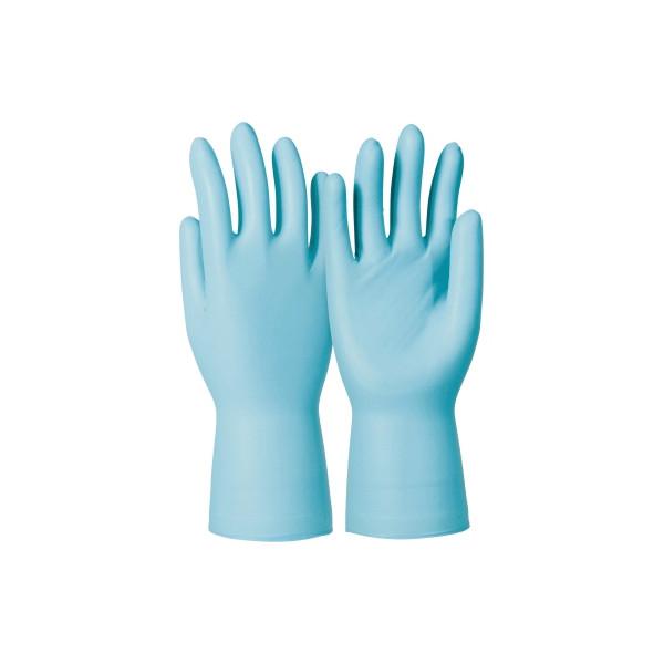 KCL Handschuh Dermatril P 743 Größe 7 Nitril 7 50 St./Pack.