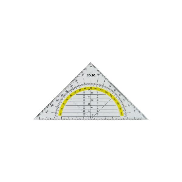 coleo Geometriedreieck Skalierung 14cm