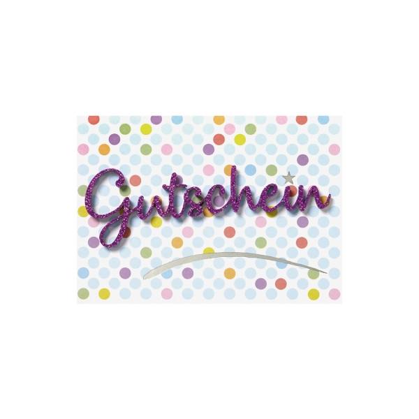 Perleberg Karte Gutschein Lettering 778-5006