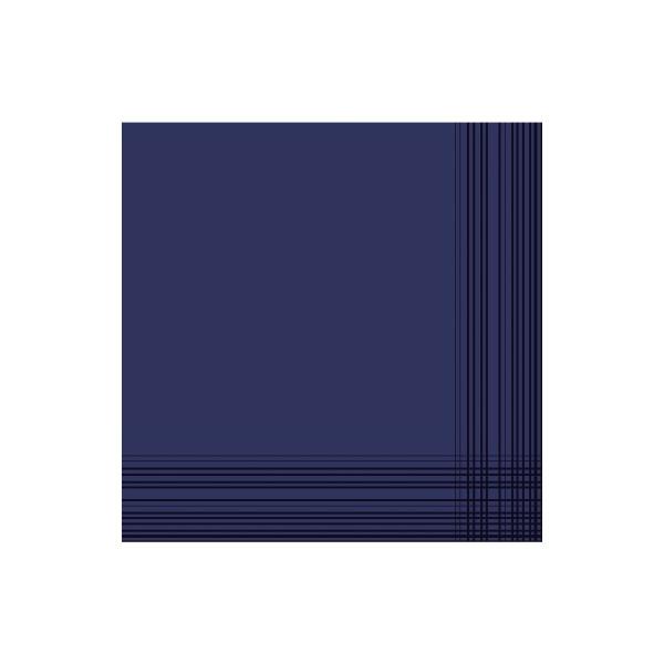 Duni Servietten Maitre Premium 148963 41x41cm d.blau 50 St./Pack.