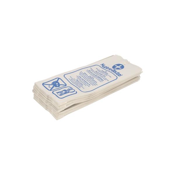 Hygienebeutel Papier 120+50x280 100 St./Pack