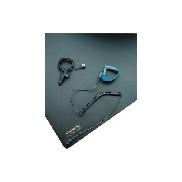 BERNSTEIN ESD-Tischmattenset 9-360 Matte/Erdungskabel/Erdungsarmband