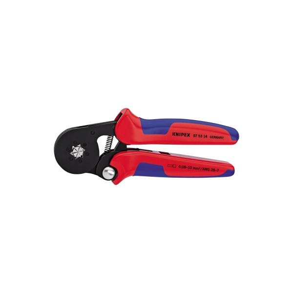 KNIPEX Crimpzange 97 53 14 0.08 bis 10 mm² Aderendhülsen