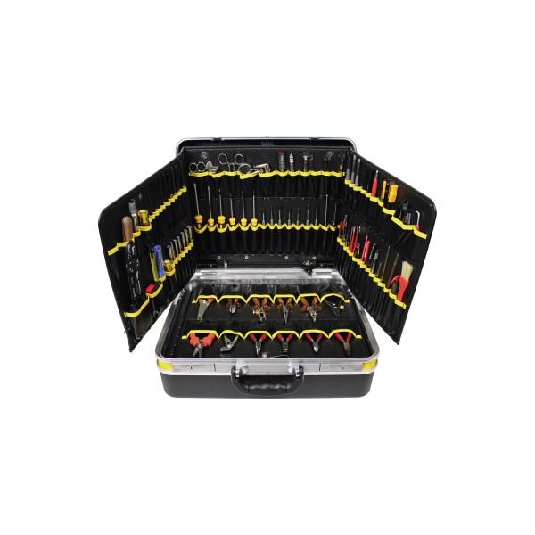 BERNSTEIN Werkzeugkoffer Elektriker 6500 106teilig schwarz