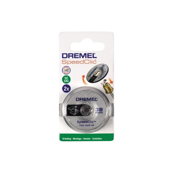 DREMEL Schleifscheibe SC541 2615S541JA 38mm 2 St./Pack.
