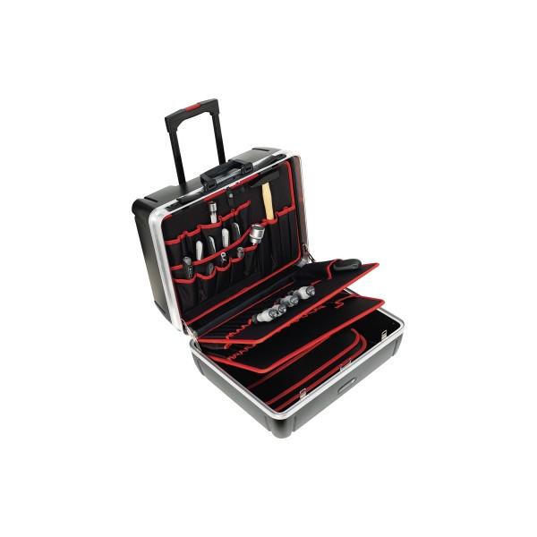TOOLCRAFT Werkzeugkoffer 405401 leer 505x440x280mm schwarz