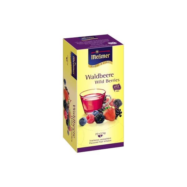 Meßmer Tee 105289 Waldbeere 25 Btl./Pack.