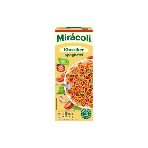 Mirácoli Miracoli Fertiggericht Spaghetti Tomatensauce 380g