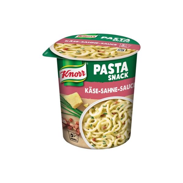 Knorr Fertiggericht Pasta Snack Käse Sahne Sauce 71g 8St.